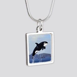 Orca Breaching Necklaces
