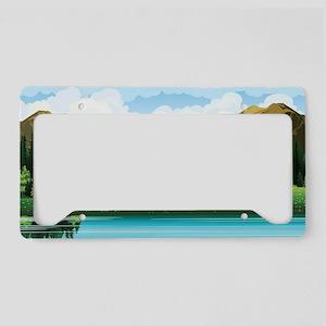Country Landscape License Plate Holder