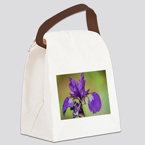 iris outdoors Canvas Lunch Bag