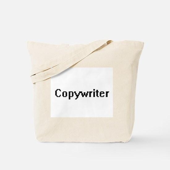 Copywriter Retro Digital Job Design Tote Bag