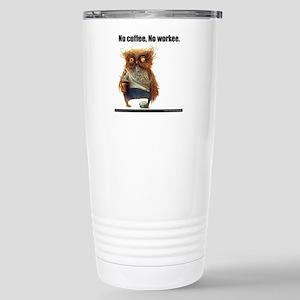 No workee Travel Mug