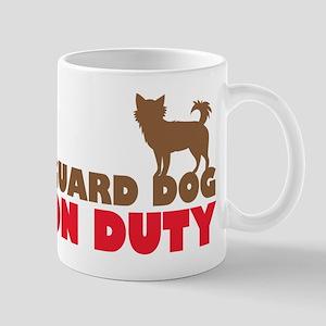 Guard Dog on duty (chihuahua) Mugs