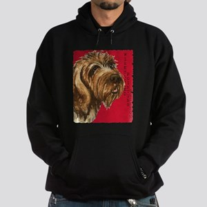Wirehaired Pointing Griffon Hoodie (dark)