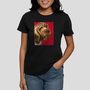 Wirehaired Pointing Griffon Women's Dark T-Shirt