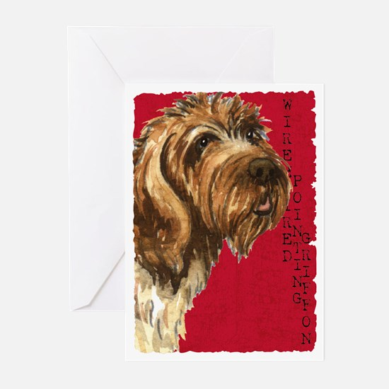 Wirehaired Pointing Grif Greeting Cards (Pk of 10)