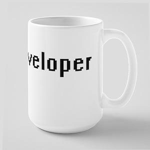 Developer Retro Digital Job Design Mugs