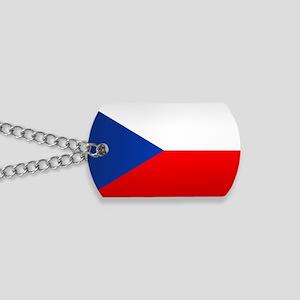 Czech Flag Dog Tags