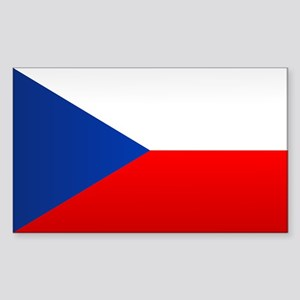 Czech Flag Sticker