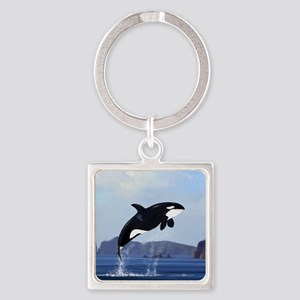 Orca Breaching Keychains