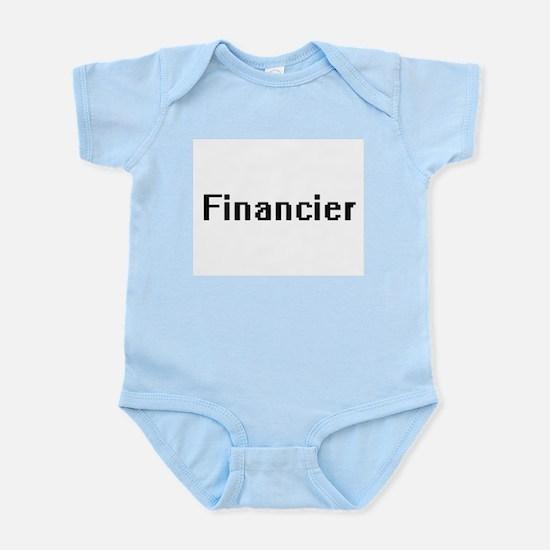 Financier Retro Digital Job Design Body Suit