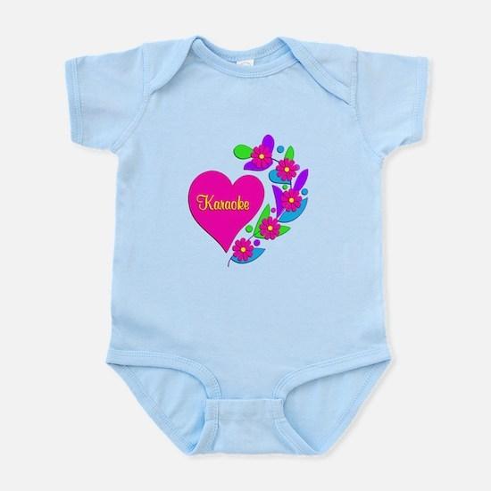 Karaoke Heart Infant Bodysuit