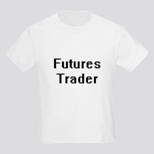 Futures Trader Retro Digital Job Design T-Shirt
