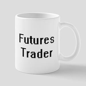 Futures Trader Retro Digital Job Design Mugs