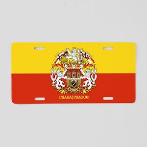 Prague Aluminum License Plate