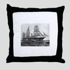 USS Michigan Throw Pillow
