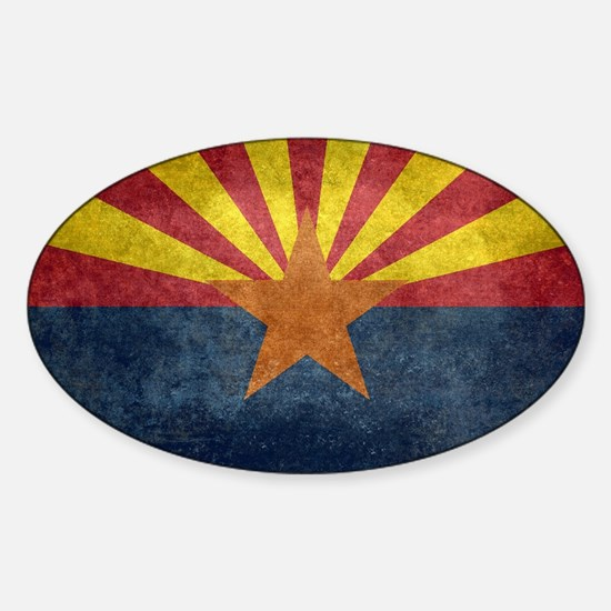 Arizona the 48th State - vintage retro ver Decal
