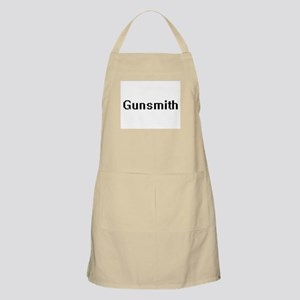 Gunsmith Retro Digital Job Design Apron