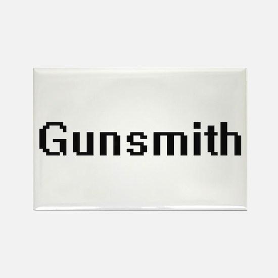 Gunsmith Retro Digital Job Design Magnets