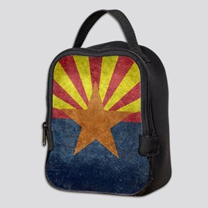 Arizona the 48th State - vintag Neoprene Lunch Bag