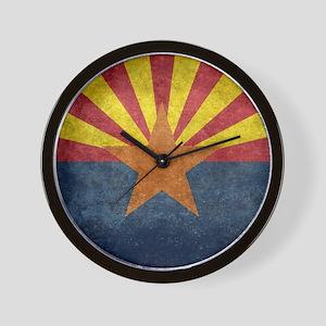 Arizona the 48th State - vintage retro Wall Clock