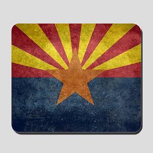 Arizona the 48th State - vintage retro v Mousepad