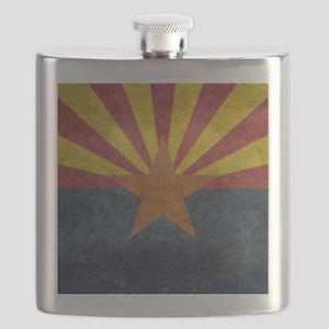 Arizona the 48th State - vintage retro versi Flask
