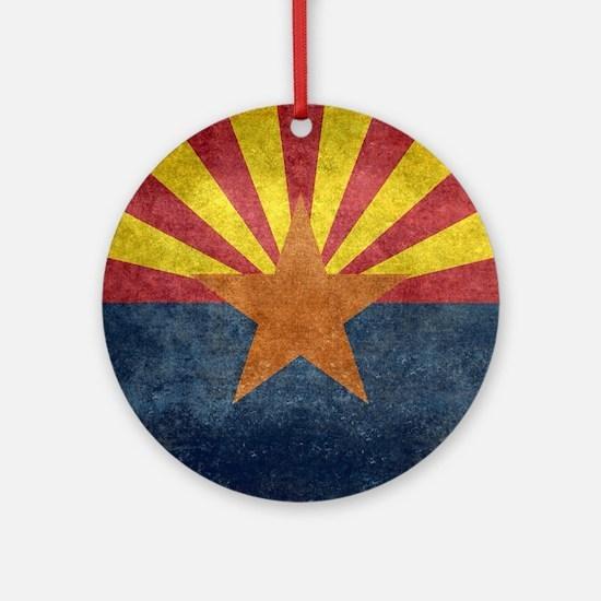 Arizona the 48th State - vintage Ornament (Round)