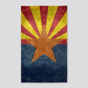 Arizona the 48th State - vintage retro ve Area Rug