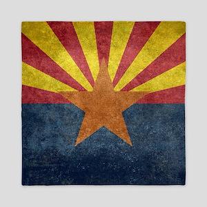 Arizona the 48th State - vintage retro Queen Duvet
