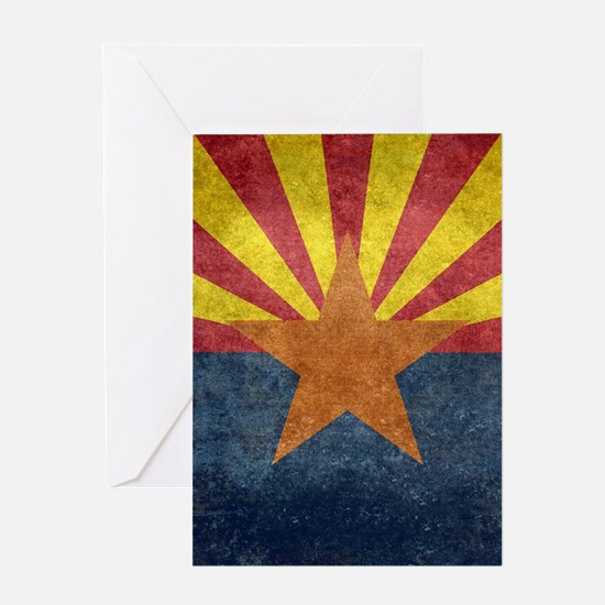 Arizona the 48th State - vintage re Greeting Cards