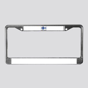 Finland License Plate Frame