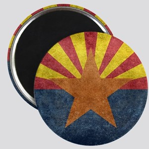 Arizona the 48th State - vintage retro ver Magnets
