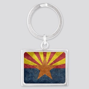 Arizona the 48th State - vintage retro v Keychains