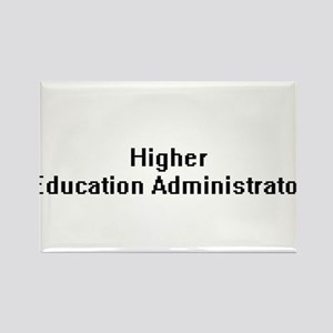 Higher Education Administrator Retro Digit Magnets