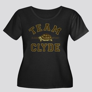 Team Clyde Elementary Plus Size T-Shirt