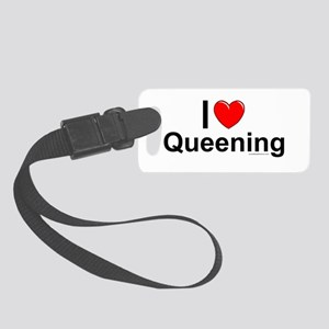 Queening Small Luggage Tag