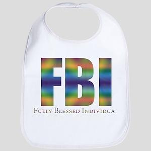 Tiedye FBI Bib