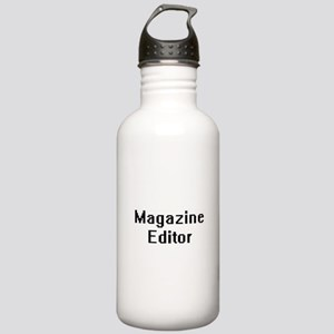 Magazine Editor Retro Stainless Water Bottle 1.0L
