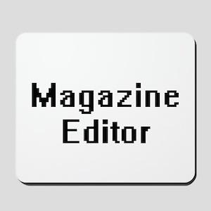 Magazine Editor Retro Digital Job Design Mousepad