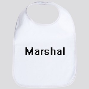 Marshal Retro Digital Job Design Bib