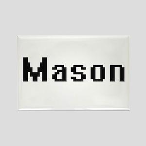 Mason Retro Digital Job Design Magnets