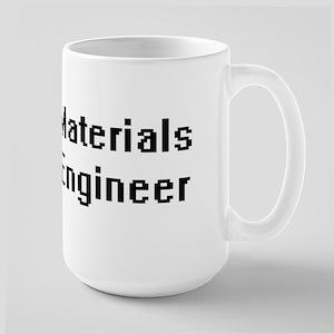 Materials Engineer Retro Digital Job Design Mugs