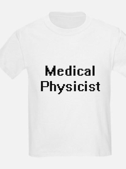 Medical Physicist Retro Digital Job Design T-Shirt