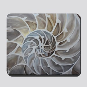 Nautilus Shell Mousepad