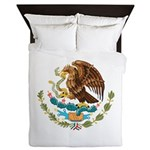 Coat Of Arms Of Mexico - Queen Duvet Cover