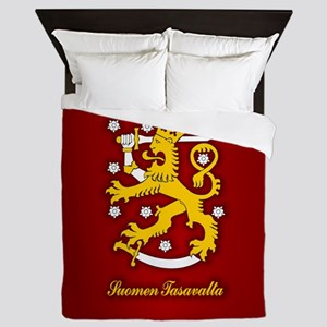 Finnish Arms Queen Duvet