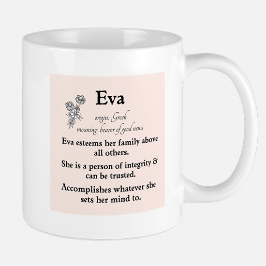 Eva Name Meaning Mugs