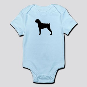 Boxer Dog Infant Bodysuit