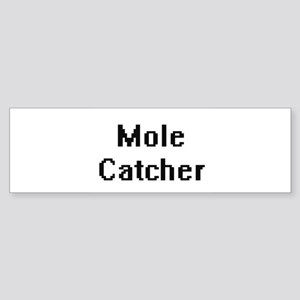 Mole Catcher Retro Digital Job Desi Bumper Sticker