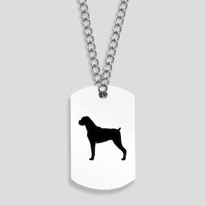 Boxer Dog Dog Tags